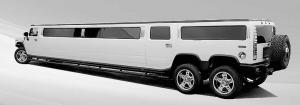 hummer-limousine strech